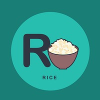 R for rice.