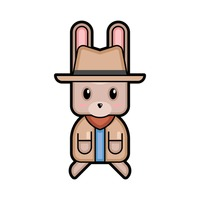 Rabbit forest ranger