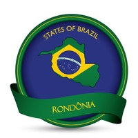 Rondonia map label