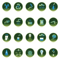 Save water icons