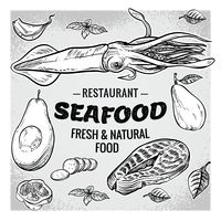 Seafood restaurant with fresh and natural food