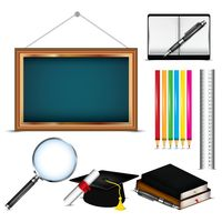 Set of education elements