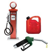 Set of fuel related items