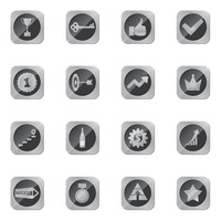 Set of success icons