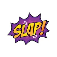 Slap comic speech bubble