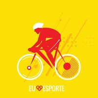 Sports competition cyclist