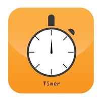 Timer mobile app icon