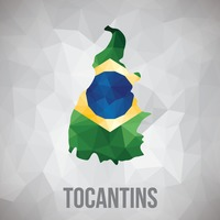 Tocantins state map