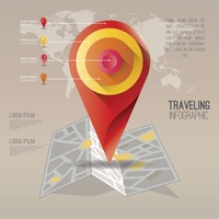 Travelling infographic