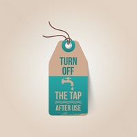 Turn off the tap tag
