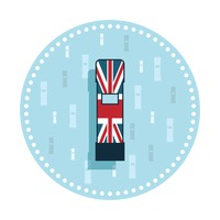 Uk postbox sticker