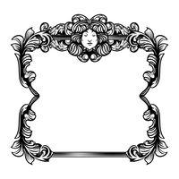 Unique retro frame