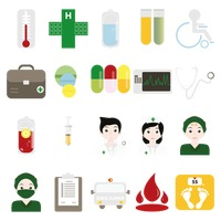 Various hospital related items