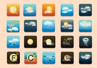Weather type icon sets