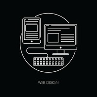Web design icons