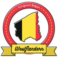 West flandern map label