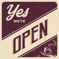 Yes we're open wallpaper