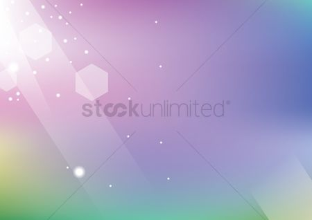 Wallpapers : Beautiful abstract background of lights