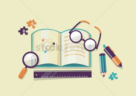 School : Book and stationery