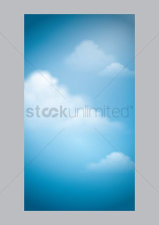 Banners : Cloud mobile wallpaper
