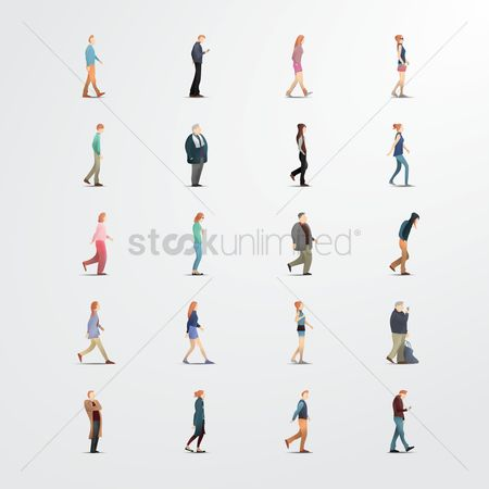 Vectors : Collection of people