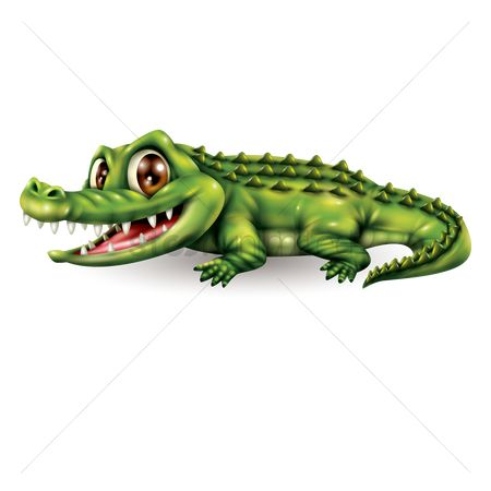 Vectors : Crocodile