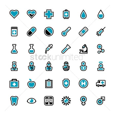 Heart : Doctor icons
