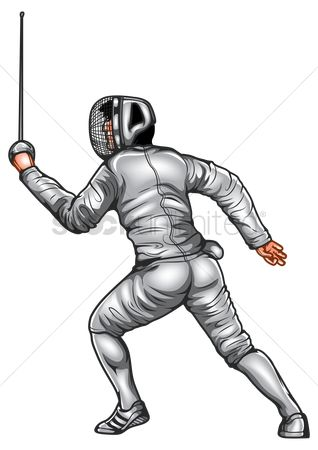 Free Foil Fencing Stock Vectors | StockUnlimited