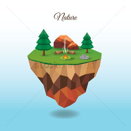 Concepts : Floating island