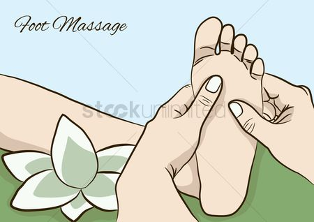 Spa : Foot massage