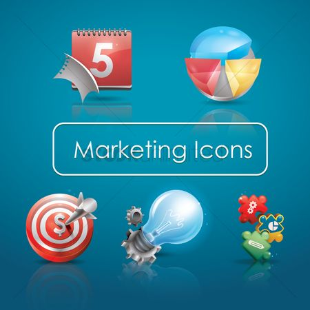 Concepts : Marketing icons