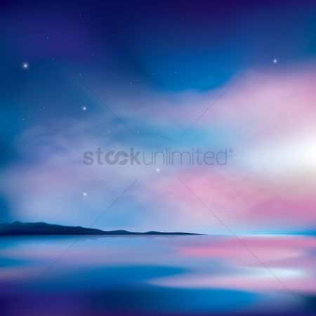 Vectors : Nature background
