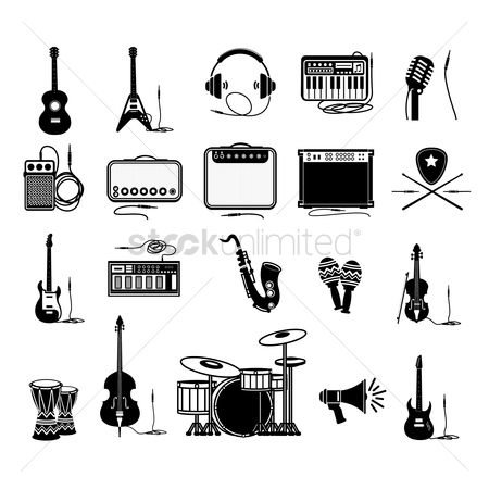 Music : Set of music icons