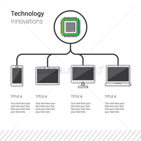 Infographic : Technology infographic