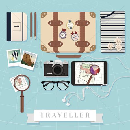 Ribbon : Travel equipment