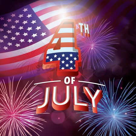 Celebration : Usa independence day