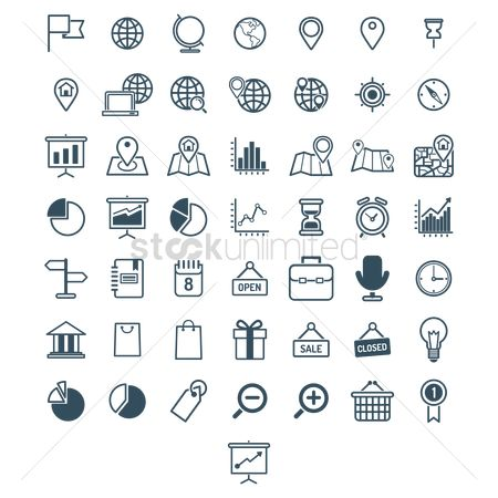 Shopping : User interface icons