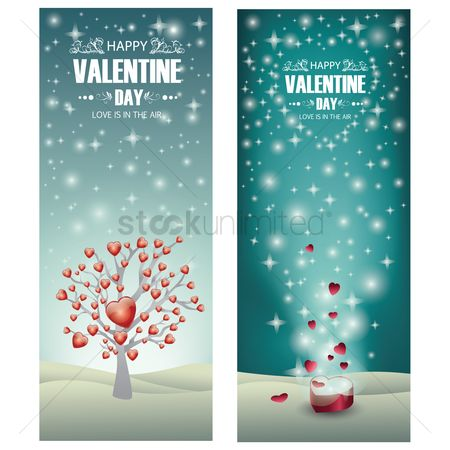 Romantic : Valentine s day greeting card