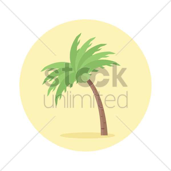 Coconut tree icon Vector Image - 1285096 | StockUnlimited