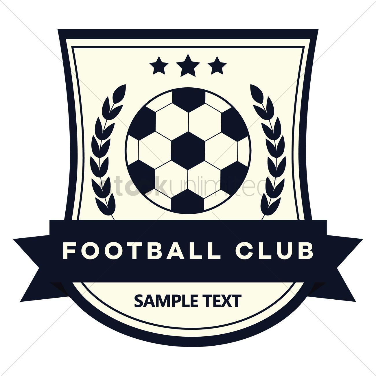 Football club logo Vector Image - 1527032 | StockUnlimited