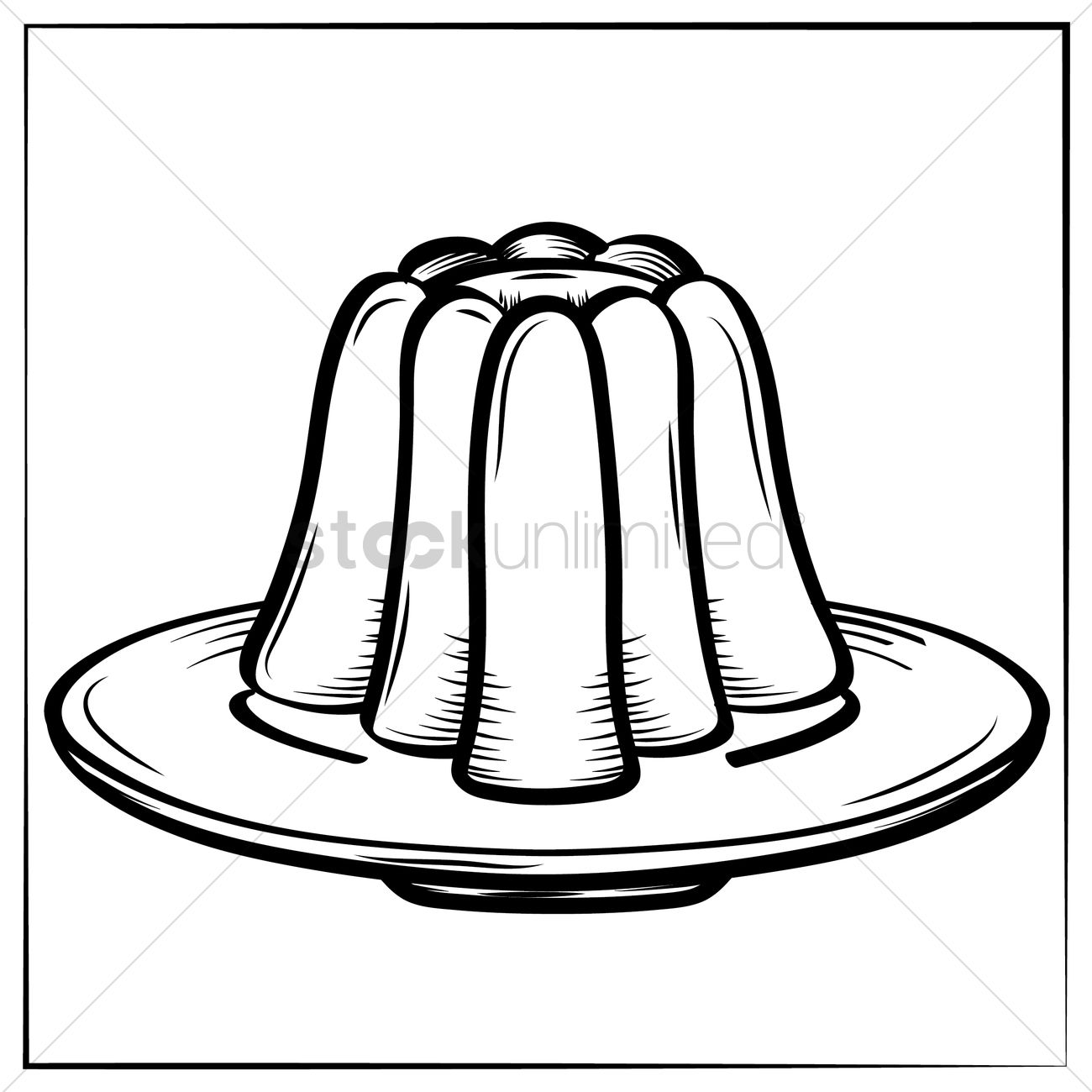 Line Art Jellyfish : Jelly vector image stockunlimited