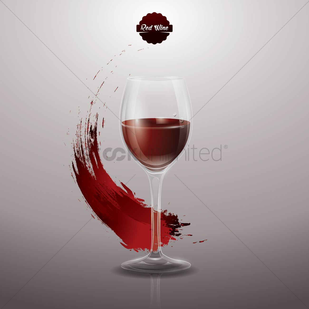 Red wine poster Vector Image - 1519896 | StockUnlimited