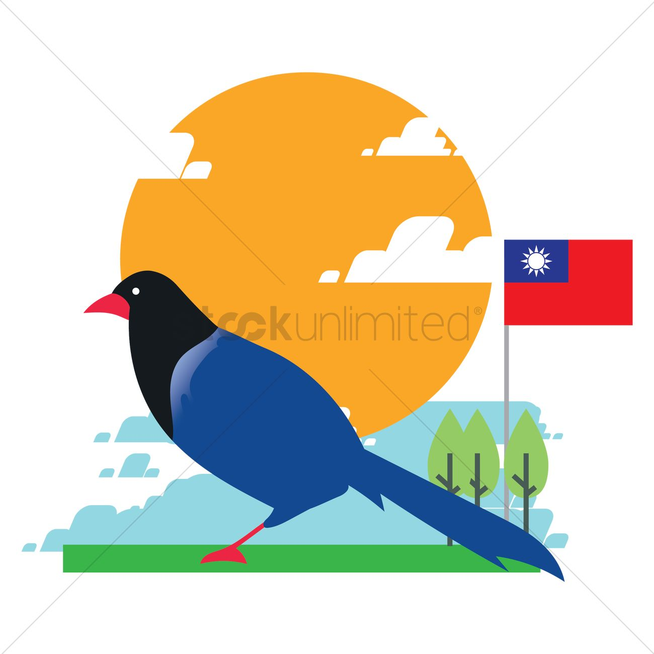 Taiwan Blue Magpie 2035464