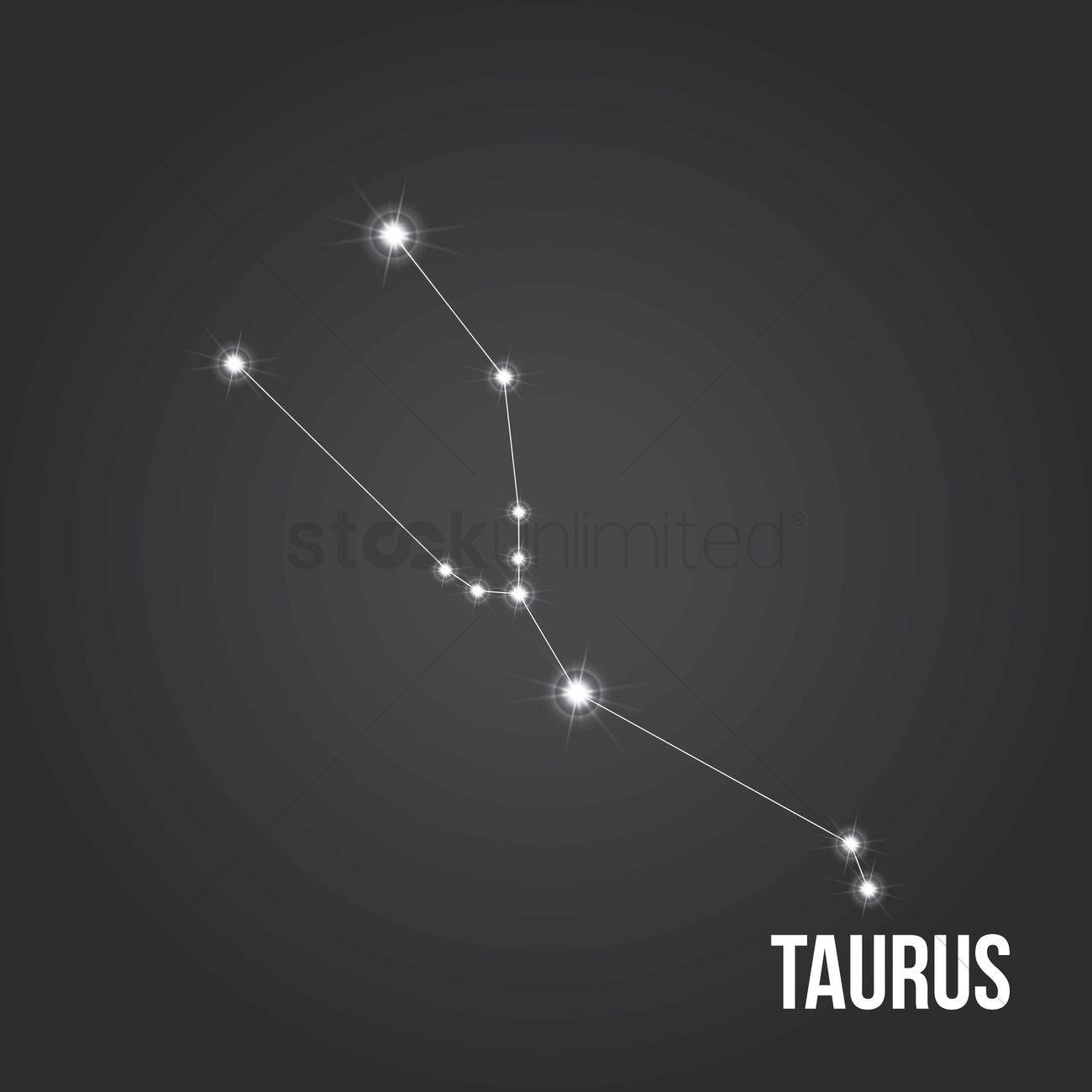 taurus constellation vector image 1616876 stockunlimited star vector graphic stars vector art
