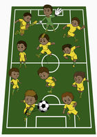 Brazil team formation