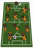 Ivory coast team formation