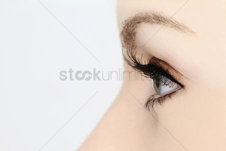 Background : Woman s eye