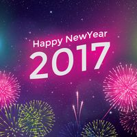 2017 new year greeting