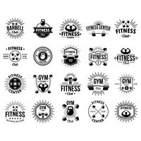 A set of fitness labels