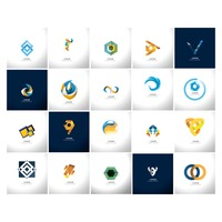 Popular : Abstract icon set